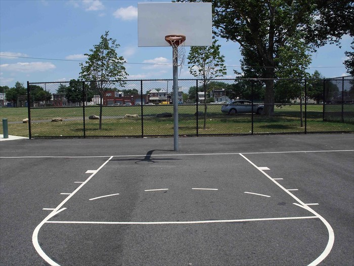 Basketball court Backyard basketball courts