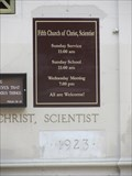 Image for 1923 - Fifth Church of Christ, Scientist - San Francisco, CA