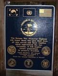 Image for Korean War Memorial Highway - Mo Hwy 21 - De Soto, Missouri