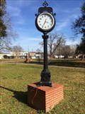 Image for Walking Trail Clock - Colfax, LA