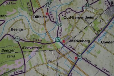 67 - Mariënberg - NL - Fietsroutenetwerk Overijssel