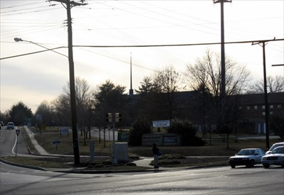 The church is located at the busy Adelphi/Queens Chapel/East-West Highway intersection.