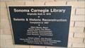 Image for Sonoma Carnegie Library - 1913 - Sonoma, CA