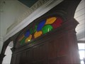 Image for Stained glass entrance - Igreja de Santa Ana - Santana de Parnaiba, Brazil