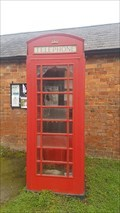 Image for Red Telephone Box - High Street - Clipston, Northamptonshire