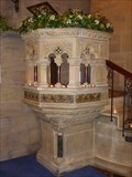 Image for Pulpit - The Parish Church of All Saints Odd Rode - Scholar Green, Cheshire East, UK.