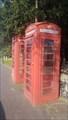 Image for Pair of Telephone Boxes - Broad Street - Harleston, Norfolk