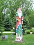 Image for Wooden Santa - Dundee, Michigan