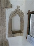 Image for Holy Water Stoup - All Saints - Drinkstone, Suffolk