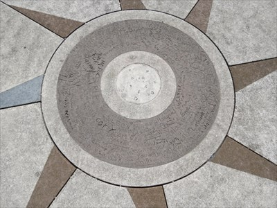 Hilltop Park Compass Rose Center, San Francisco, CA