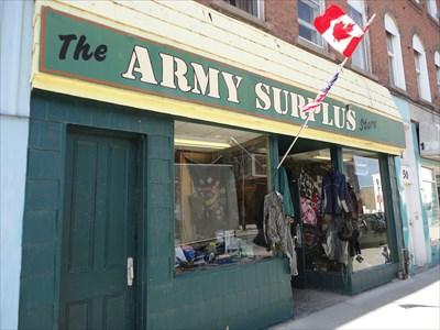 The Army Surplus Store (Brockville, Ontario) - Military Surplus