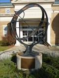 Image for Signs of Zodiac - Hall Memorial Library Sundial - Ellington, CT, USA