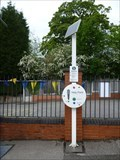 Image for Alsager Station Help Point - Alsager, Cheshire, UK.