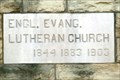 Image for 1844 /1883 /1903 - English Lutheran Church - Zelienople, Pennsylvania