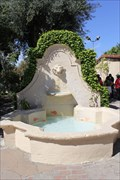 Image for Mission Fountain -- San Gabriel the Archangel, San Gabriel CA