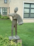 Image for Accordian Man by Ernest Stern - St. Louis, Missouri