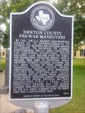 Image for Newton County Pre-War Maneuvers
