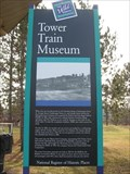 Image for Tower Train Museum Historical Marker – Tower, MN