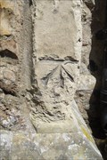 Image for Cut-Mark on buttress of St.Thomas's Church, Bradwell-on-Sea, Essex.