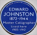 Image for Edward Johnston - Hammersmith Terrace, London, UK