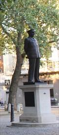 "Image for Sir Arthur ""Bomber"" Harris -- St Clement Danes, Westminster, London, UK"