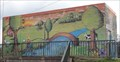 Image for Sluice Gate Building Mural - Didsbury, UK