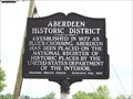Image for Aberdeen Historic District (Sign # 1)