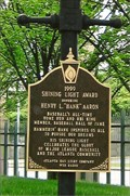 "Image for Henry L. ""Hank"" Aaron - Shining Light Award - Atlanta, GA"