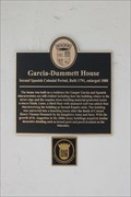Image for Garcia-Dummett House--Second Spanish Colonial Period, Built 1791, enlarged 1888