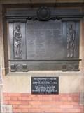 Image for WW1 Monument, Shrewsbury Train Station, Castle Gates, Shrewsbury, Shropshire, England, UK
