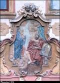 "Image for Sv. Lukáš na dome ""U cerného vola"" / St. Lucas on house ""At the Black Ox"" - Hradcany (Prague)"