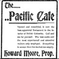 Image for Pacific Cafe - Greenwood, BC - 1907