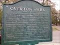Image for Marker - Overton Park - Memphis, TN
