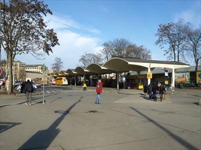 Grand Hotel Bus Station Brno