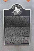 Image for 45th Infantry Division at Camp Barkeley