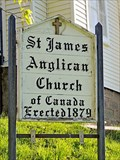 Image for St. James Anglican Church - 1879 - Pictou, NS