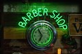 Image for Barber Shop Clock - LeClaire