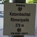 Image for 378m - Katzenbachtal Römerquelle - Bad Niedernau, Germany, BW