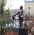 Image for Man with a book - Binghamton, NY