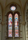 Image for Vitraux Eglise de Saint Aaron, France