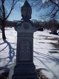 Image for Linscott Family Headstone - Rosehill Cemetery Chicago, Illinois