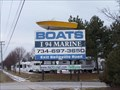 Image for Boat on a Pole - Belleville, Michigan