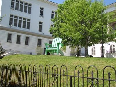 Lawn Chair Setting, Duke Ellington School for the Arts, Washington, DC