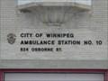 Image for Ambulance Station No. 10 - Winnipeg MB