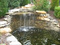 Image for Man-made waterfall at The Villas - Johnson City, TN