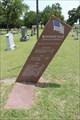 Image for Boonsville Cemetery Veterans Memorial - Boonsville, TX