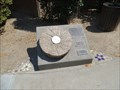 Image for Millstone and Plaque - Orland, CA