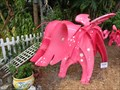 Image for Flying Pigs - Kinetic Art - Sarasota, Florida, USA.