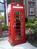 Image for Red Booth Coin Phone, Manchester, NH