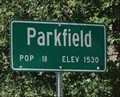 Image for Parkfield, California ~ Population 18